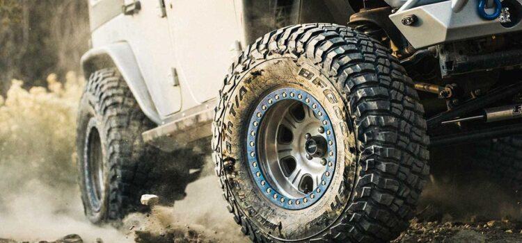 Comment choisir les pneus d'un 4×4 ?