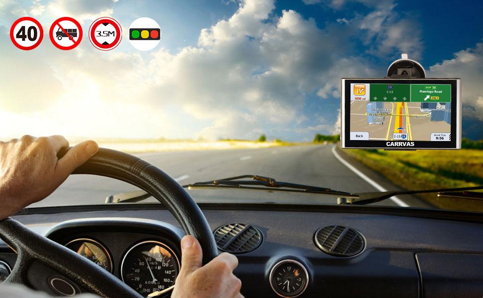 GPS auto CARRVAS