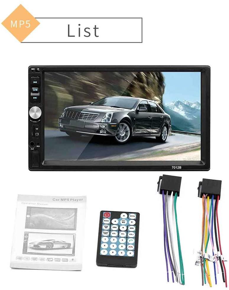 Elegantstunning Autoradio Bluetooth avec écran Tactile 17,8 cm