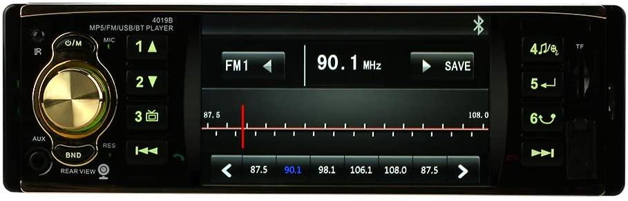 KKmoon autoradio 1 DIN, 4.1 Pouces TFT HD
